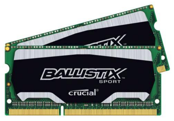 SODDR3 8GB PC1866 CL10 Crucial