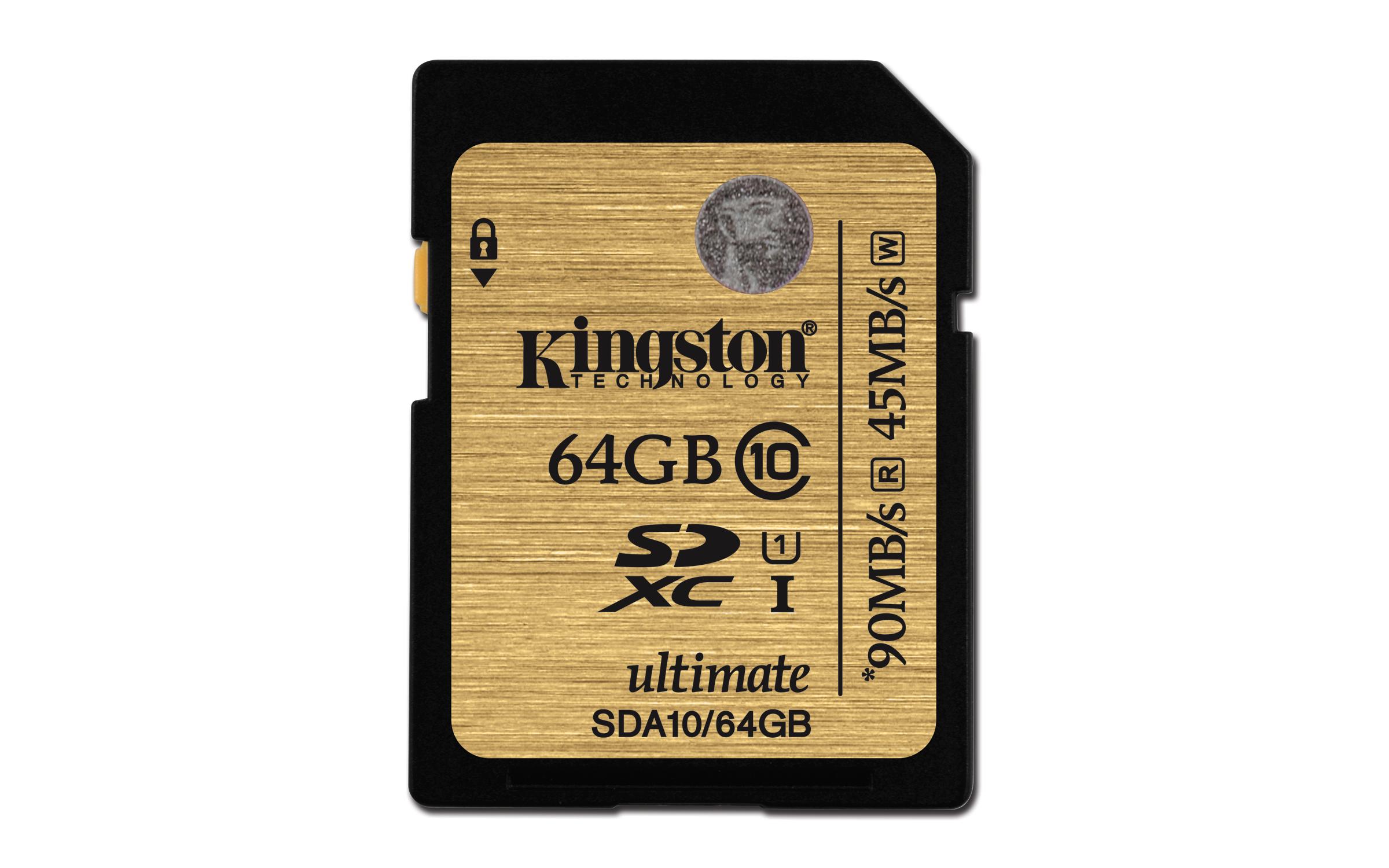Memory card SDXC 64GB Kingston UHS-1