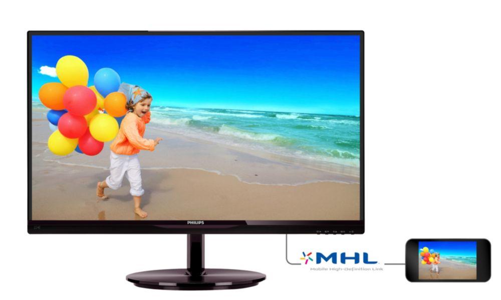 MON LED 21,5 Philips 224E5QDAB  E-Line
