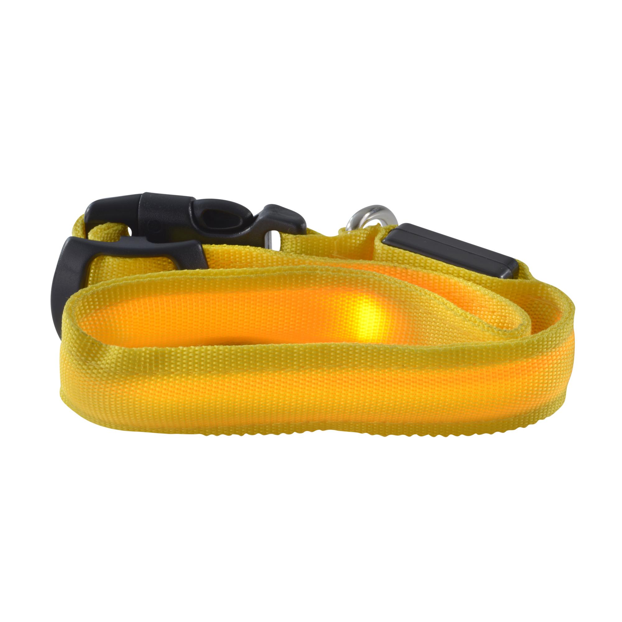 Lampada LED ultron save-E Lampada LED Hundehalsband gelb