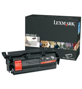 TONER LEXMARK PER X65X DA 25K CORPORATE